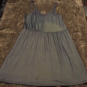 Universal Thread Dresses - Brand New, Casual Tank, Blue and White Dress